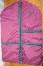 Horse Show Clothes Chap Garment Bag Quilted Hanging Lined Zipper - $44.95