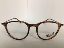 New Persol 3047-V 108 Round Tortoise 48mm Eyeglasses Frame Hand Made Italy - $149.99