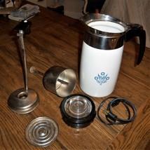 Vintage Corning Ware Blue Cornflower 10 Cup Electric Perculator Coffee Pot  - $49.49