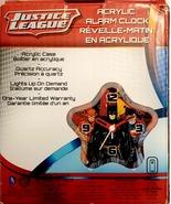 Justice League Acrylic Alarm Clock - $25.00