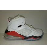 Nike Air Jordan Mars 270 GS Size 6.5Y White/ Reflect Silver- Fire Red BQ... - $59.39