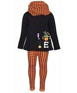 Unique Baby Girls 3 Piece Halloween Houndstooth Legging Set (2t) - $21.99