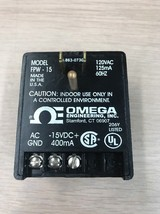 OMEGA ENGINEERING FPW-15 Power Supply Adapter Charger      N9