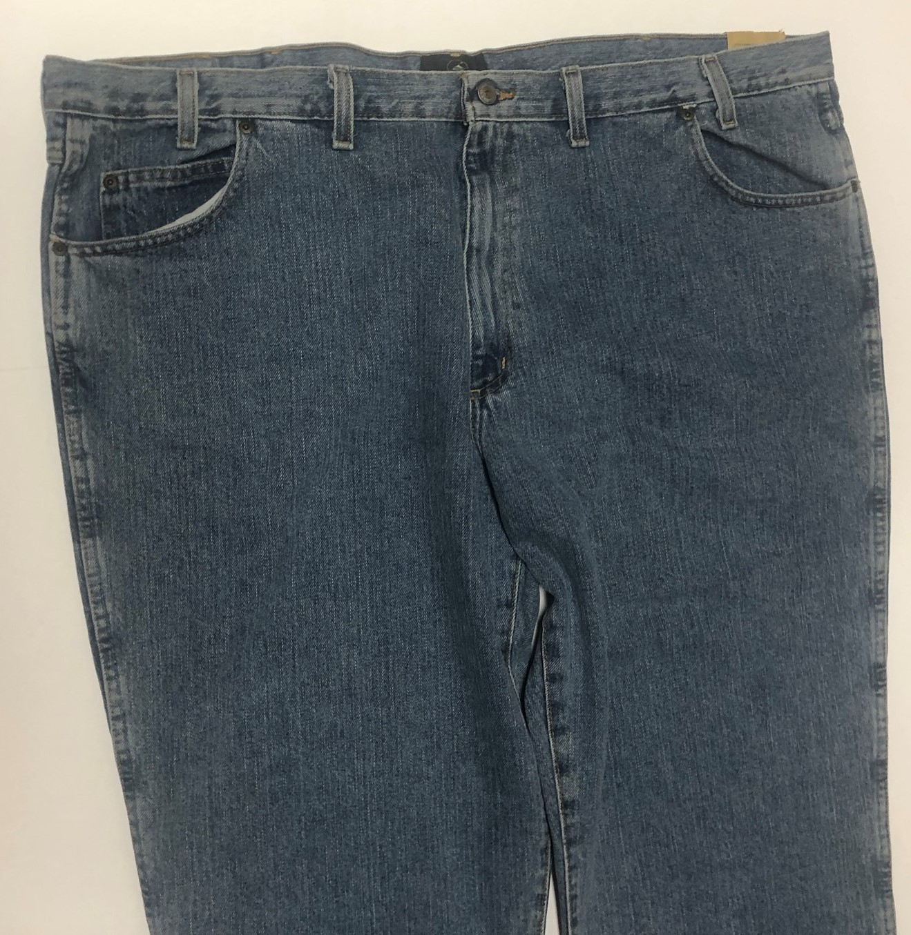 Red Head Relaxed Men's Blue Jeans Sz 48/30 Medium Stone Wash image 5