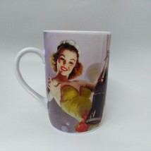 Coca-Cola Swinging Lady Mug (14oz) - BRAND NEW - $6.19