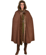 Deluxe Medieval / Viking Fur trimmed Hooded Cloak  - $39.30