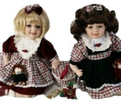 2 Heritage Signature Collection Stephanie and Sabrina Dolls - $30.00