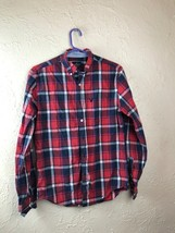American Eagle Outfitters small Plaid Long Sleeve Button Down  - $233,29 MXN