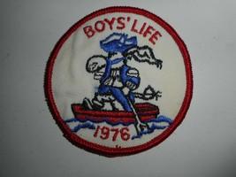 "Vintage 70s BSA Boy Scouts Boys Life 1976 Patch 3"" - $6.99"