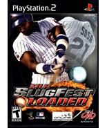 PlayStation 2 MLB SlugFest Loaded Case, Manual ... - $5.95