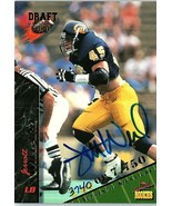 1995 Signature Draft Rookie Autographed Trading Card JERROTT WILLARD #37... - $2.85