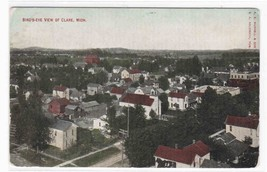 Panorama Clare Michigan 1910 postcard - $4.46