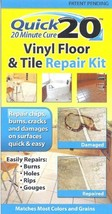 Quick 20 Vinyl Floor and Tile Repair Kit: Repairs chips, cracks, burns, and dama