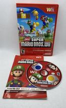 New Super Mario Bros. Wii (Nintendo Wii, 2009) Authentic CIB Complete, T... - $25.52