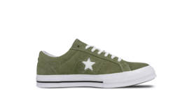 Converse One Star Field Surplus Green Shoes Suede  Sneakers All Star 161... - $68.81