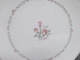 8 Noritake Mayfair Platinum Trim Salad Plates Roses Euc Bundle Of 8 - $28.42