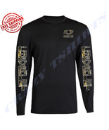 NEW CAMOUFLAGE METAL DURAMAX CHEVROLET CHEVY Chest BLACK LONG SLEEVE S-2XL - $19.79+