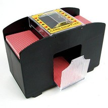 Laser Sports Casino Deluxe Automatic 4 Deck Card Shuffler - $22.98