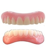 Large Instant Smile Veneer Set Uppers and Lowers 2 extra bags of fitting... - $23.60