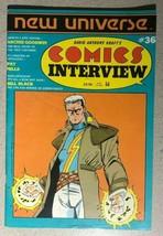Comics Interview #36 Archie Goodwin, Pat Mills, Bill Black (1986) VG/VG+ - $9.89