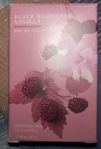 Bath & Body Black Raspberry Vanilla Eau De Toilette 1.7 Oz New ! - $140.00