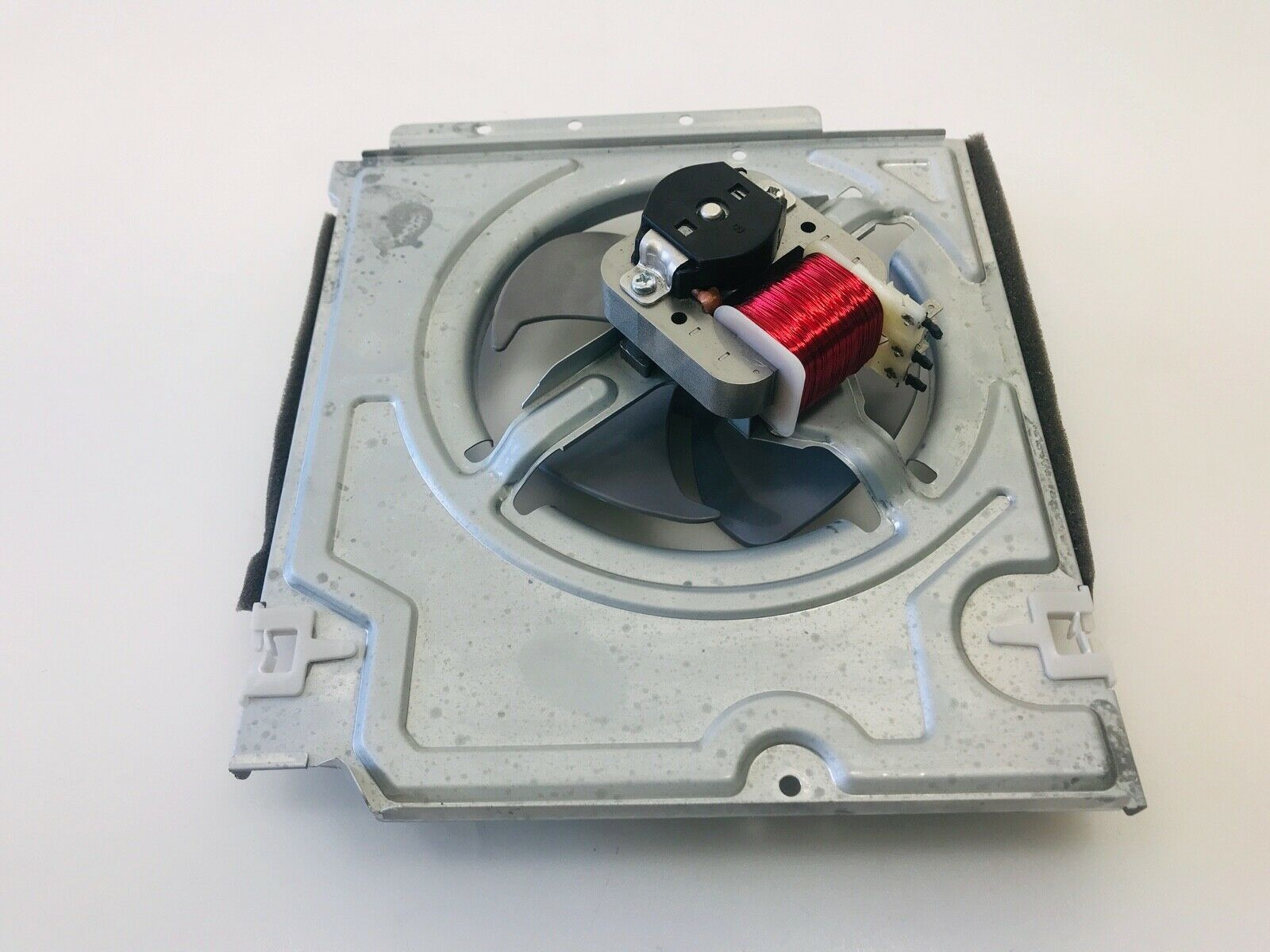 Samsung Microwave Cooling Fan Motor w/Blade & Housing DE31-00045B DE31-00064A image 3