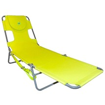 Ostrich Folding Chaise Lounge Beach Green Foldi... - $53.49