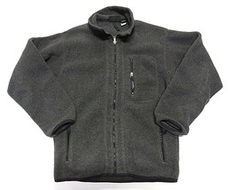 Patagonia Synchilla Outerwear Grey Full Zip Up Fleece Jacket Men's Size ... - $69.25