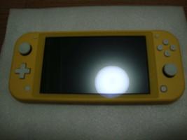 Nintendo Switch Lite Yellow Light With Liquid Crystal Film - $307.88