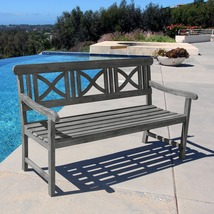 Handmade Weather-Resistant Garden Bench  - $389.99