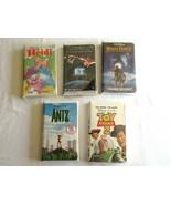 Lot 5x Sealed Children's VHS ET Heidi Disney White Fang 2 Antz Pixar Toy... - $12.99