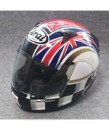Arai full face helmet Astro iQ flag L size UK limited model used - $367.99