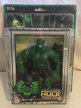 Hulk The Motion Picture Smash & Crush Hulk Marvel Action Figure ToyBiz N... - $55.68