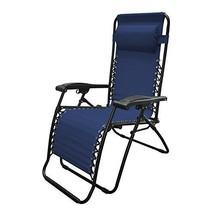 Zero Gravity Chair Blue Patio Backyard Camping ... - $64.05
