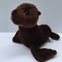 "Aurora Destination Nation Plush Brown Seal Soft 15"" Stuffed Animal - $14.36"