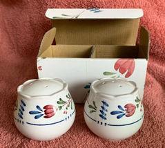 """Nikko China AVONDALE Salt & Pepper Shakers 478898 In Original Box 2.25"""" image 3"""