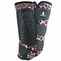 Small Classic Equine Lightweight Horse Classicfit Sports Boots Pair Hind... - $77.21
