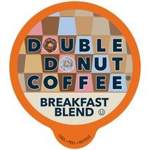 Double Donut Breakfast Blend Medium Roast Single Serve Pods For Keurig K-CUPS - $16.24+