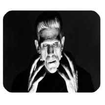 Mouse Pad Frankenstein The Modern Prometheus English Horror Science Movie - $6.00