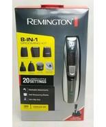 Remington Rechargeable Hair Clipper beard trimmer Men 8-in-1 Grooming Ki... - $29.69