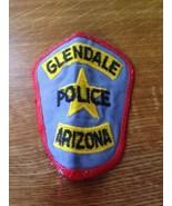 Vintage Original City of Glendale Arizona Police Cop Officer Patch - $18.79
