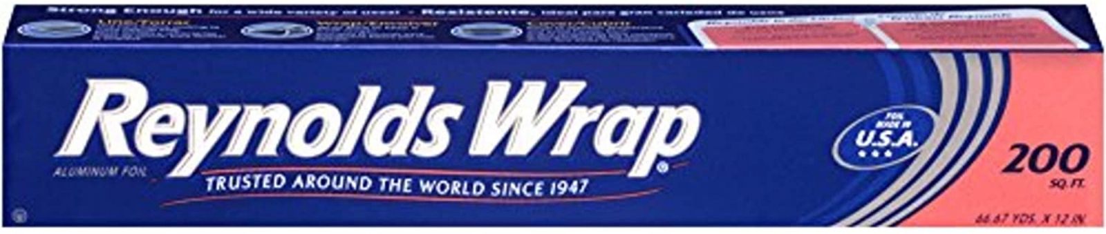 Primary image for Reynolds Wrap Aluminum Foil (200 Square Foot Roll)