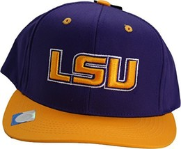 NCAA LSU Tigers Snapback Adjustable Adult Cap Hat - $18.94