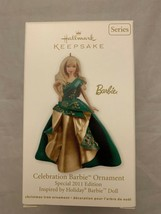 Hallmark Keepsake Ornament Celebration Barbie Special 2011 Edition Holiday Xmas - $12.46