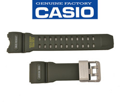 Genuine CASIO G-SHOCK Watch Band Strap Mudmaster GWG-1000-1A3 Green Rubber  - $79.95
