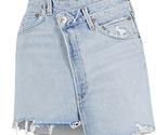 Agolde criss cross denim mini skirt 1 thumb155 crop