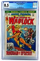 MARVEL PREMIERE #2 CGC 8.5 VF+ 1972 WARLOCK ROY THOMAS - $105.00