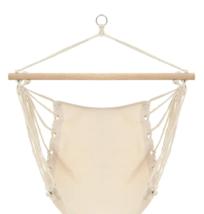 Strong Hammock Swing Seat Indoor/Outdoor Lounge Garden Balcony Fabric Co... - $46.24