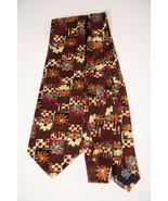 VTG UNGARO PARIS Italy Novelty Neck Tie Necktie SILK Flowers Botany Fall... - $36.62