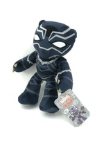 "NEW! MARVEL Flexers 10"" Poseable Plush Doll The Avengers Black Panther - $9.95"